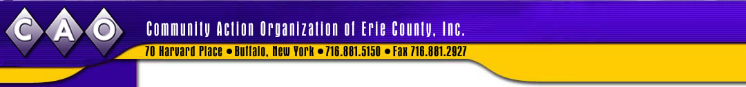 The Community Action Organization Of Erie County Inc