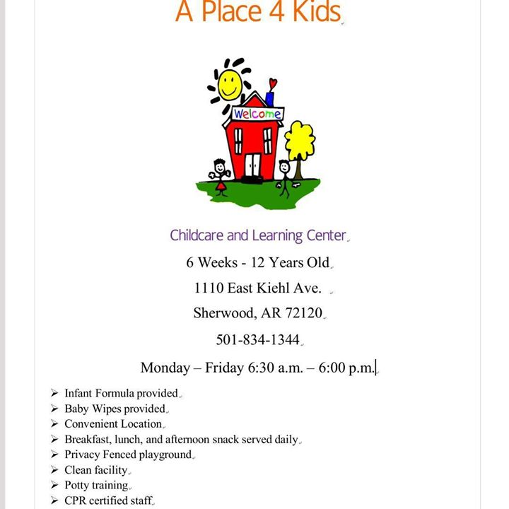 A Place 4 Kids Childcare and Learning Center LLC