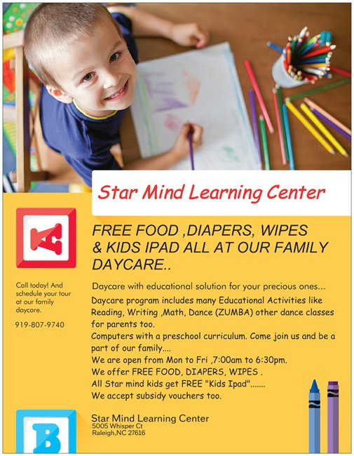 STAR MIND LEARNING CENTER