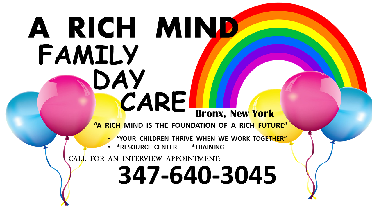 A RICH MIND FAMILY DAY CARE