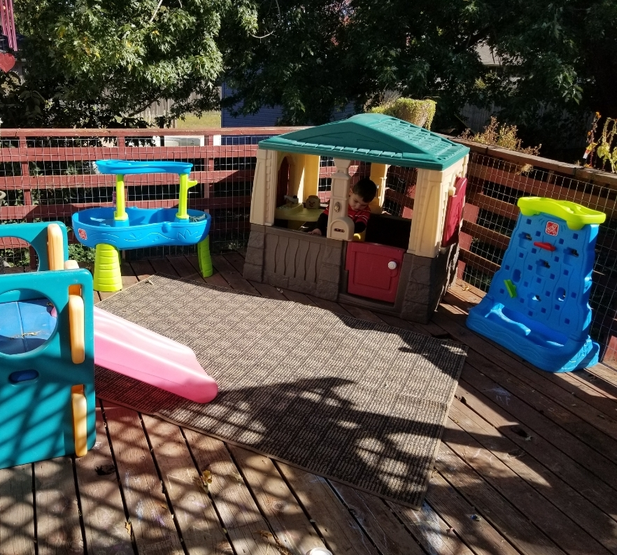 Outside play space