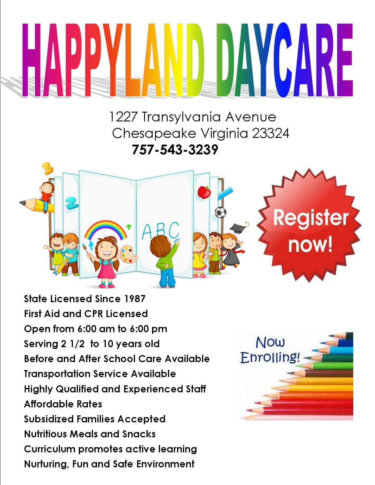 Happyland Day Care