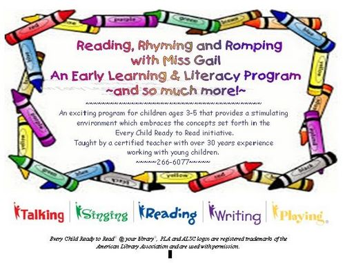 Reading, Rhyming and Romping