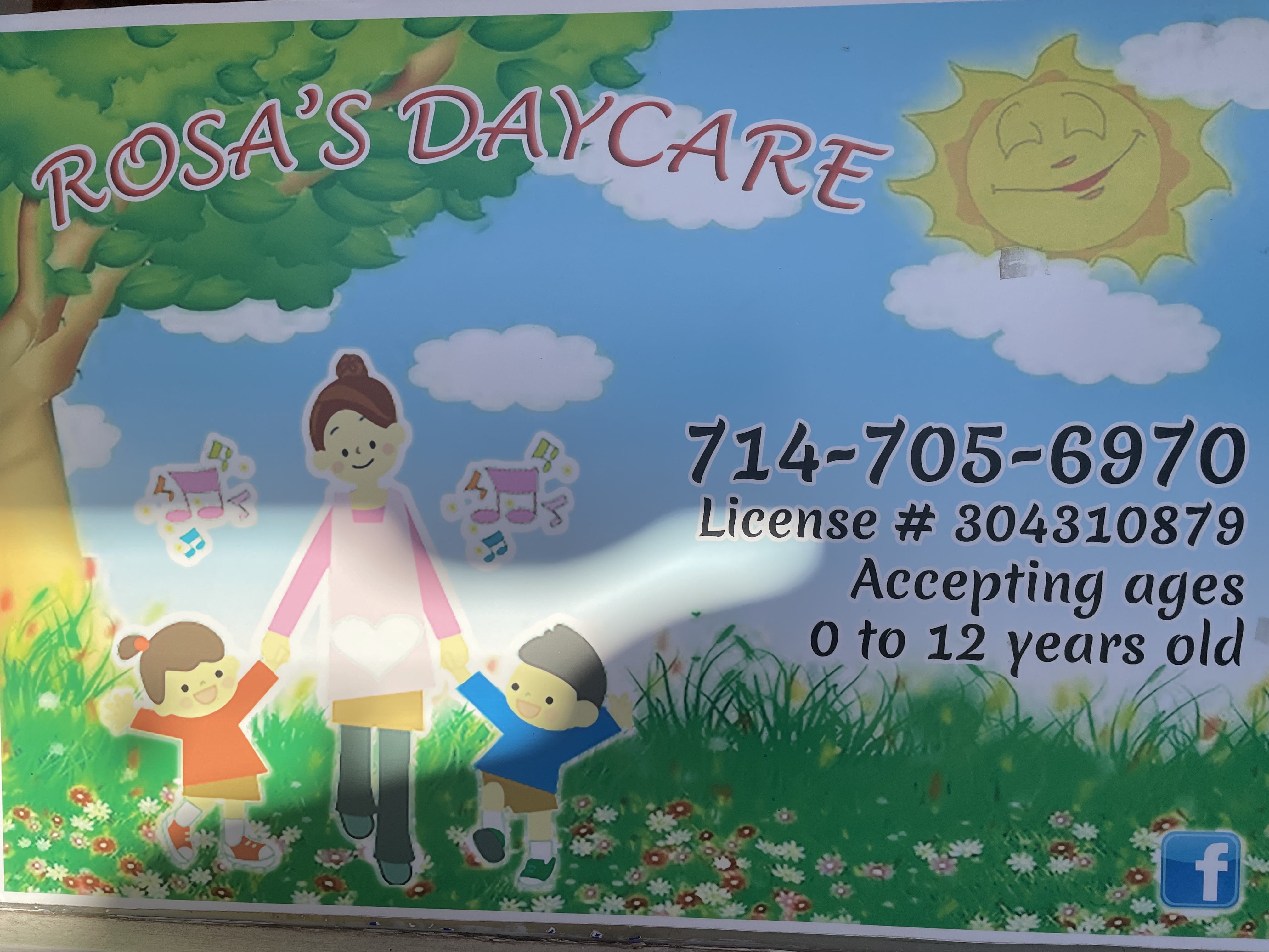 Rosa's Daycare