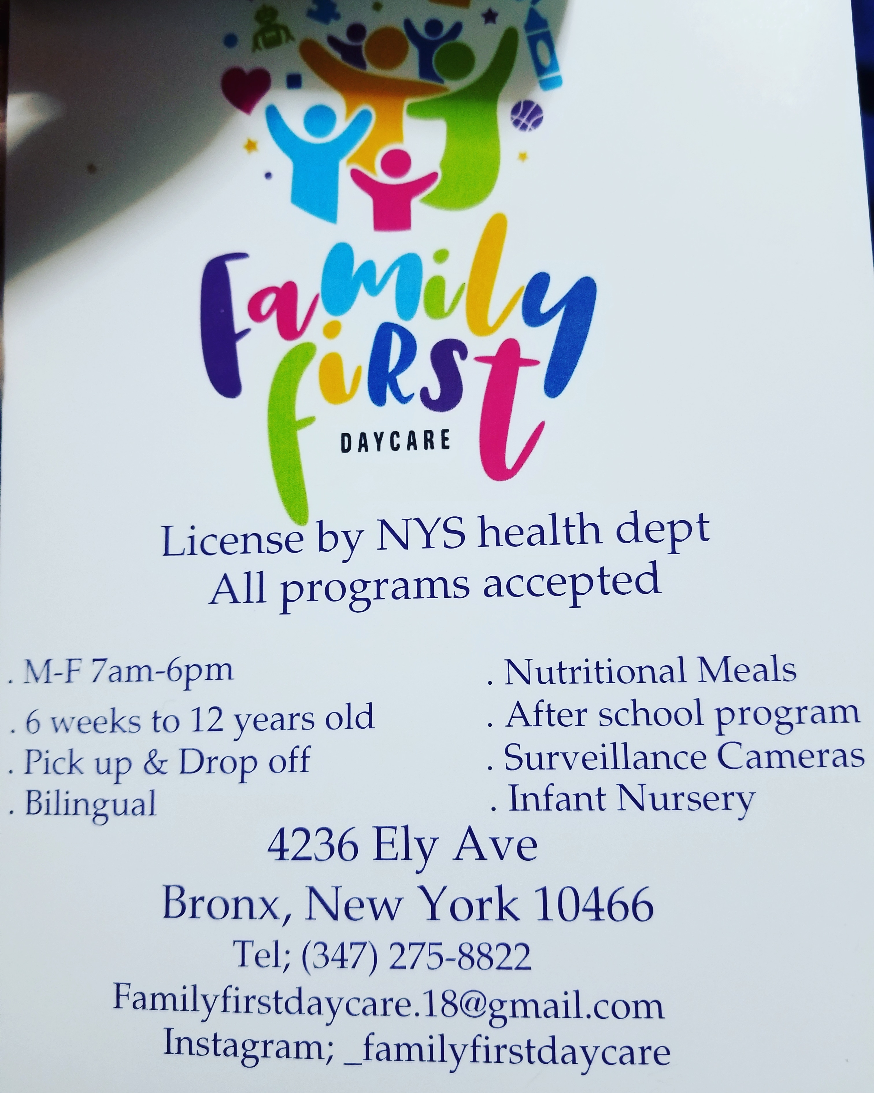 Family First Daycare