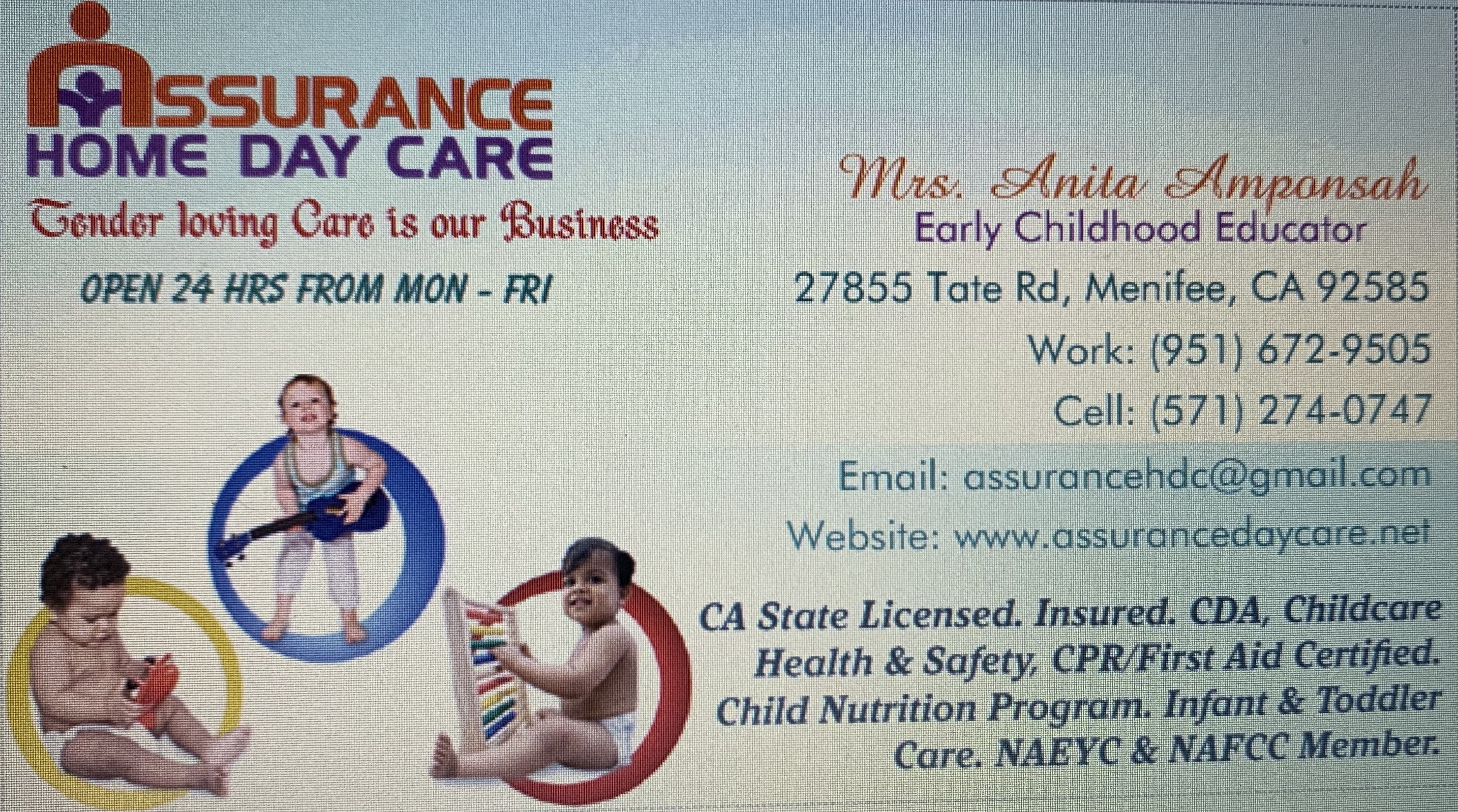Assurance Home Daycare