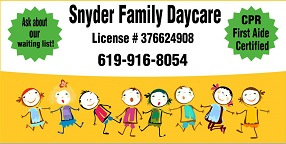 Snyder Family Daycare