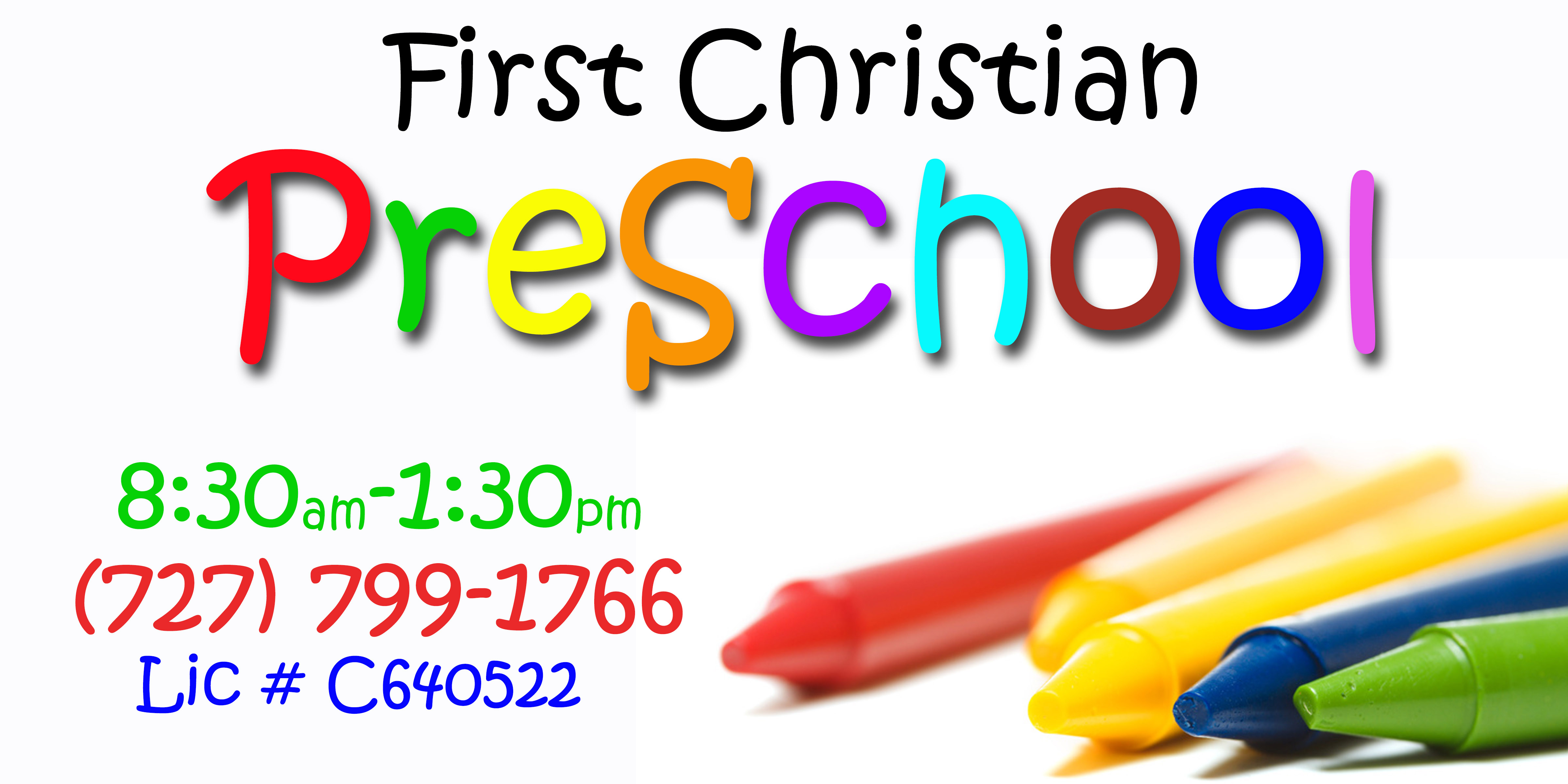 first christian preschool clearwater fl child care facility
