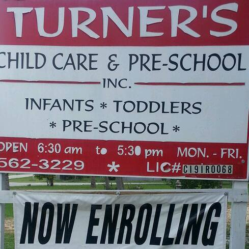 Turner's Child Care and Preschool