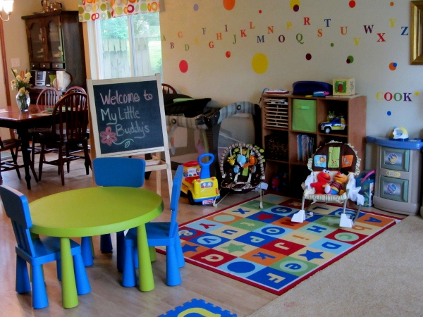 Home Daycare Ideas Small Spaces