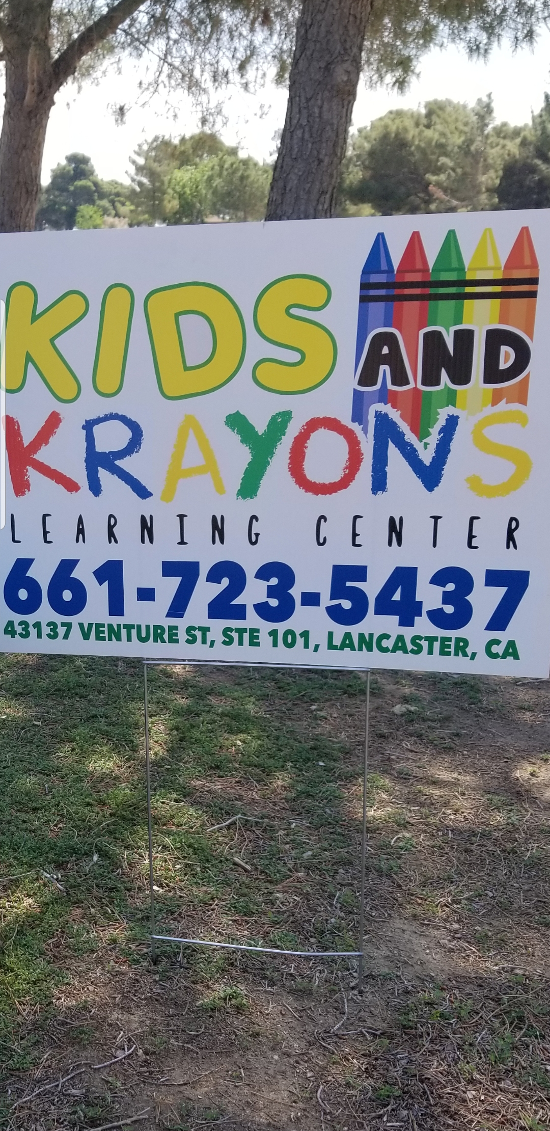 KIDS AND KRAYONS LEARNING CENTER