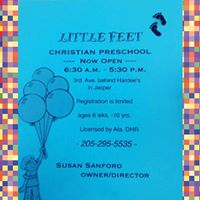 LITTLE FEET CHRISTIAN PRESCHOOL