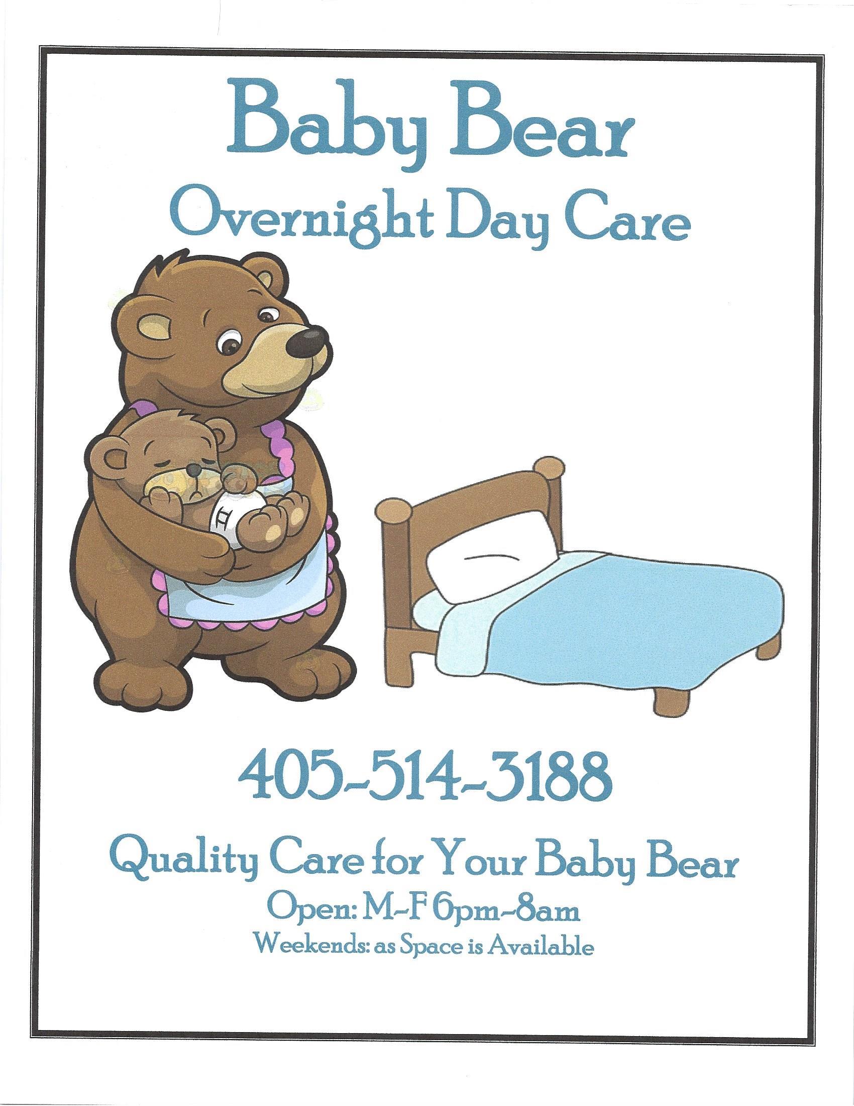 Baby Bear Overnight Daycare