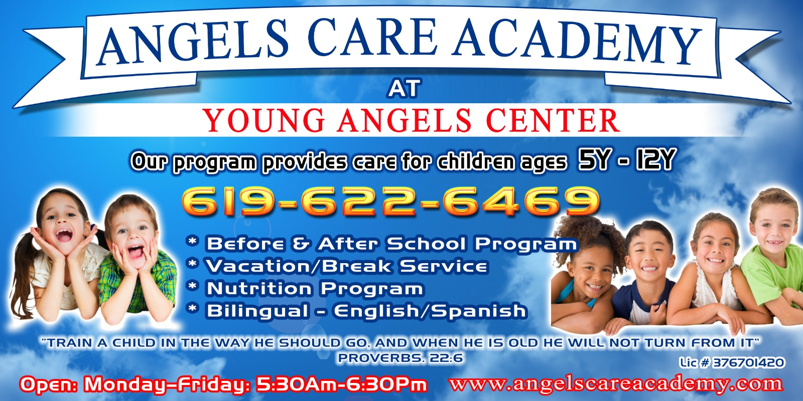 YOUNG ANGELS CENTER