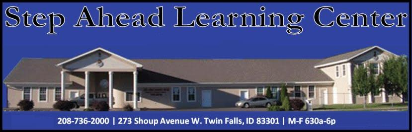STEP AHEAD LEARNING CENTER