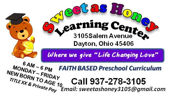 SWEET AS HONEY CHILD & FAMILY CARE CENTER