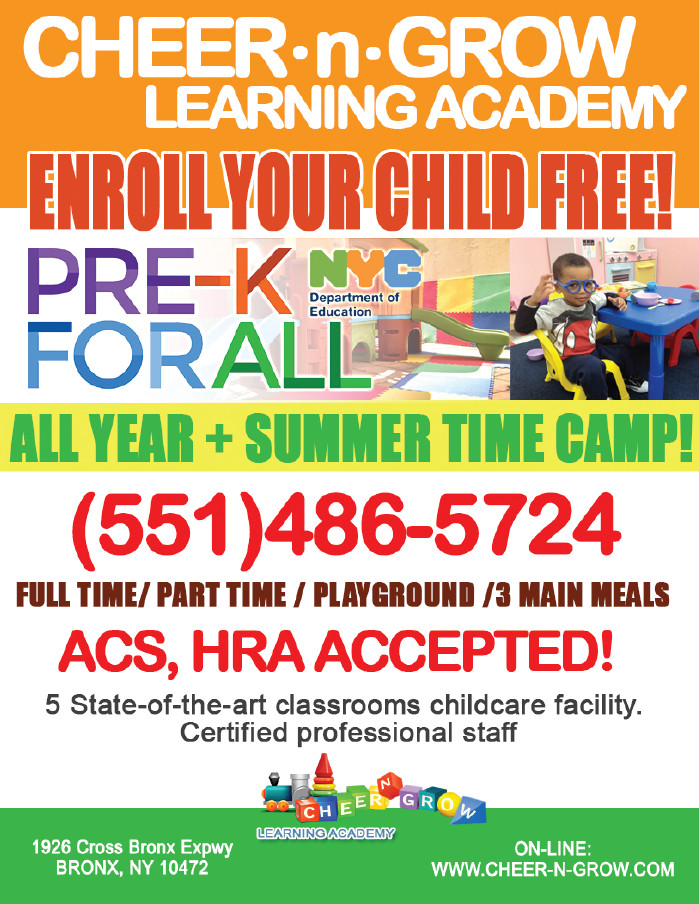 PRE-K FOR ALL