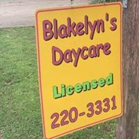 BLAKELYN'S DAYCARE