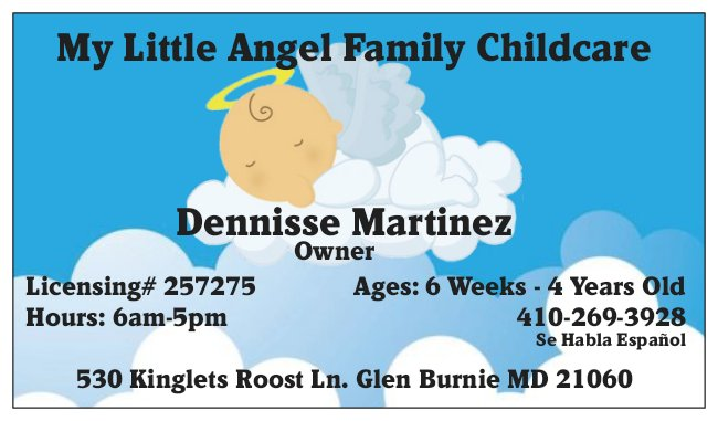 My Little Angel Family Childcare