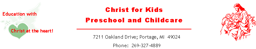Christ For Kids Childcare