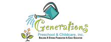 GENERATIONS PRESCHOOL AND CHILD CARE, INC.