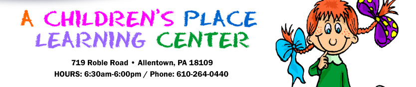 A CHILDREN'S PLACE LEARNING CENTER