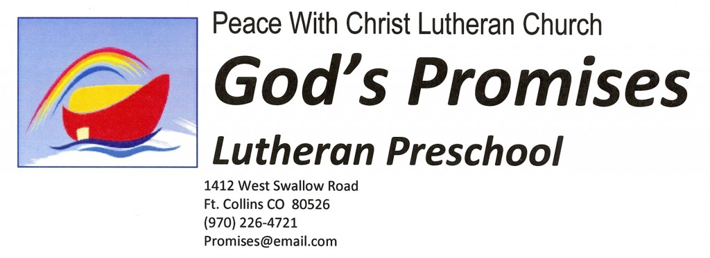 God\' Promises Lutheran Learning Place
