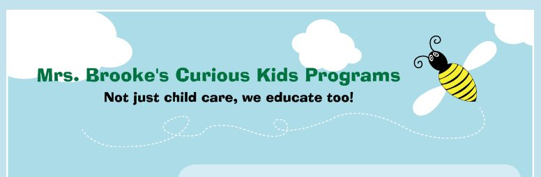 Mrs Brooke's Curious Kids Program