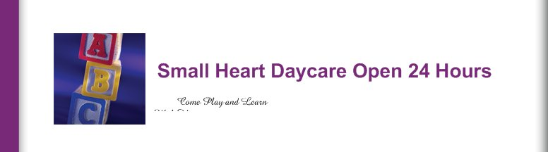 Small Heart Daycare