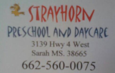 STRAYHORN PRESCHOOL AND DAYCARE LLC