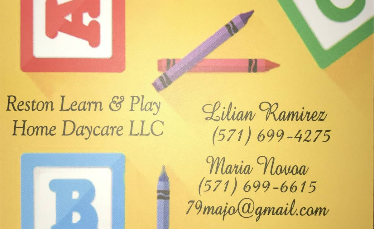 Reston Learn & Play Home Daycare