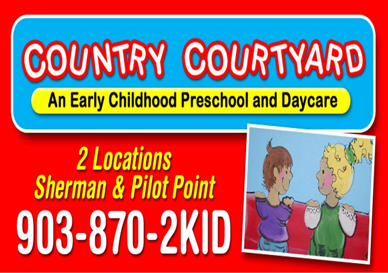 country preschool country courtyard preschool amp daycare pilot point tx 389