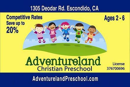 ADVENTURELAND CHRISTIAN PRESCHOOL