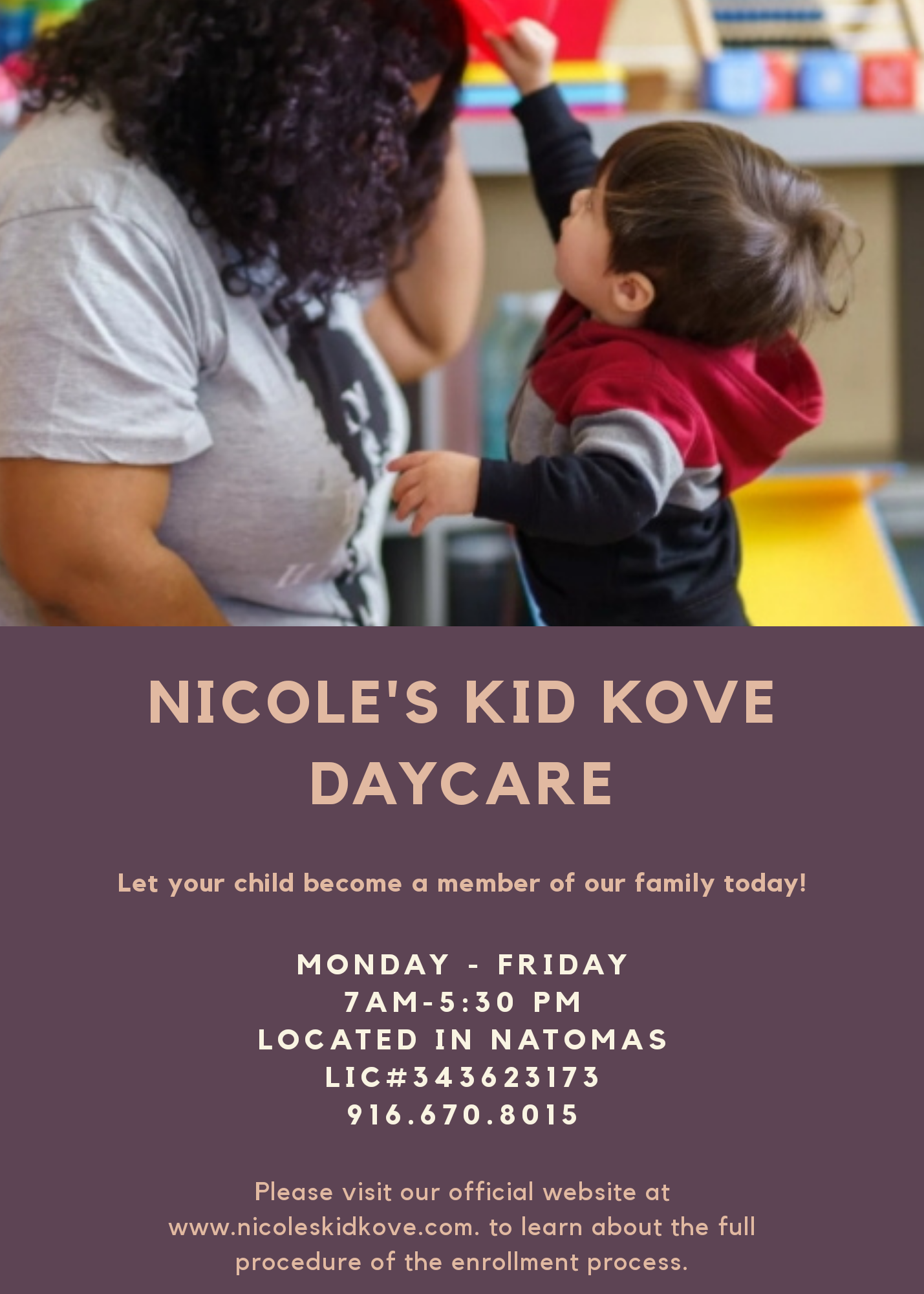 Nicole's Kid Kove Daycare