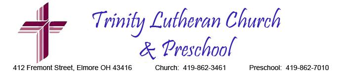 TRINITY LUTHERAN PRESCHOOL