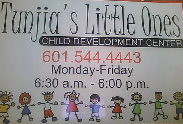 TUNJIA'S LITTLE ONES CHILD DEVELOPMENT CENTER
