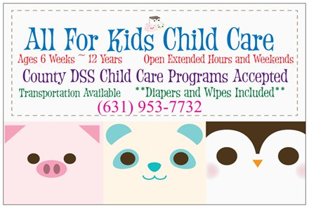 All For Kids Child Care, Inc.
