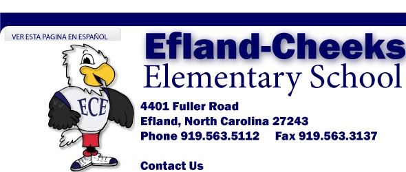 EFLAND CHEEKS ELEMENTARY SCHOOL AFTERSCHOOL PROGRA