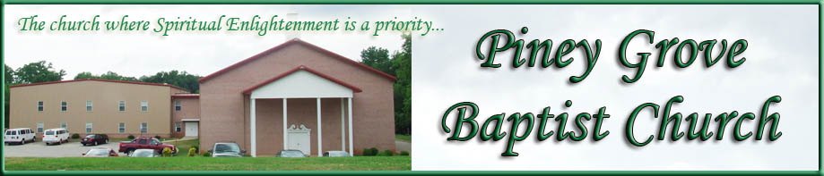 PINEY GROVE MISSIONARY BAPTIST CHURCH