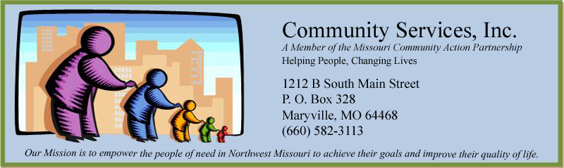 COMMUNITY SERVICES OF NW MISSOURI INC