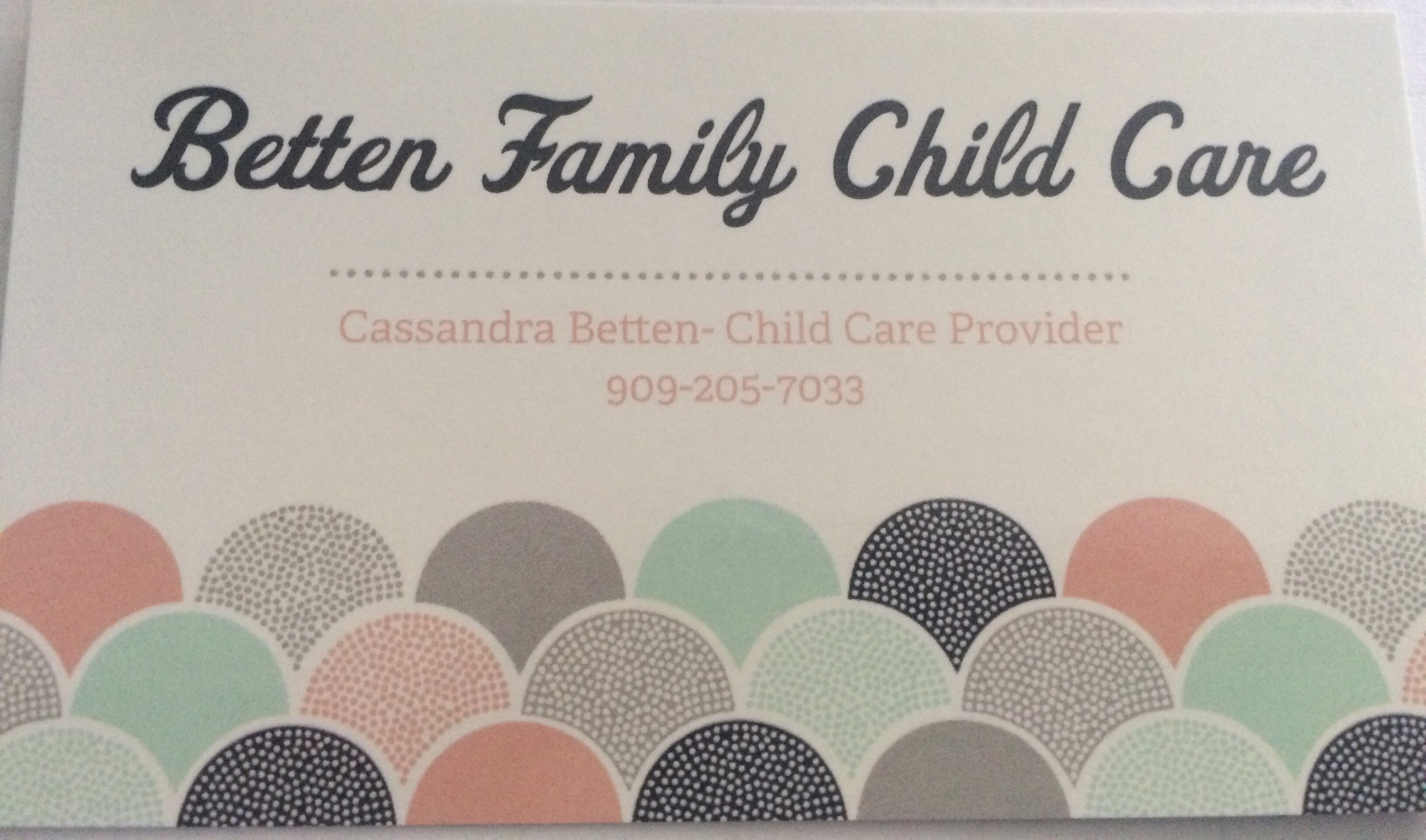 Betten Family Childcare