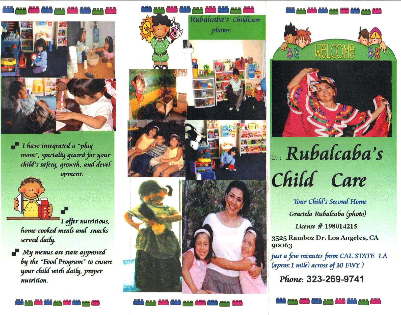 rubalcaba family child care los angeles ca family day care home rubalcaba family child care photos click to enlarge
