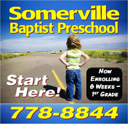 SOMERVILLE BAPTIST CHURCH PRESCHOOL